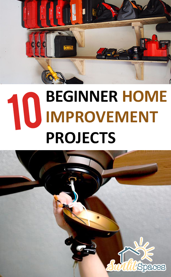 10 beginner home improvement projects for Easy home improvement projects