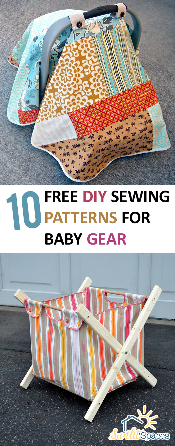 10 free diy sewing patterns for baby gear prev1 of 12next jeuxipadfo Choice Image
