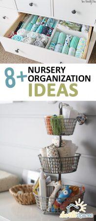 8+ Nursery Organization Ideas | Nursery Organization, Nursery Organization Ideas, Nursery organization DIY, Organization Ideas, Organization Ideas for the Home