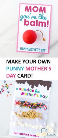 Make Your Own Punny Mother's Day Card! Mothers Day Card Handmade, Mothers Day Card Ideas, Mothers Day Ideas, Mothers Day Gift, Mothers Day Gift Ideas, Mothers Day Gifts from Kids