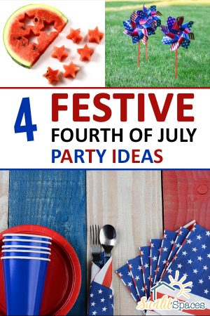 4 Festive Fourth of July Party Ideas, 4th of July, 4th of July Decorations, 4th of July Party, Holiday Party Ideas, Summer Ideas, Holiday Parties