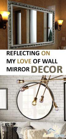 Wall Mirror Decor | Mirror Decor | DIY Wall Decor | Wall Decor | Home Decor | Mirror Home Decor | Home