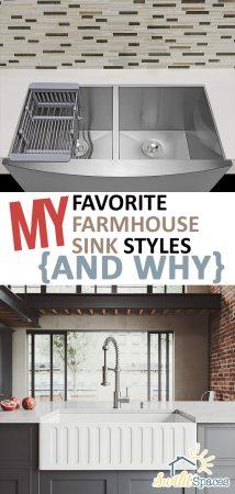 Farmhouse Sink | Farmhouse Sink Styles | Favorite Farmhouse Sinks | Farmhouse Kitchen | DIY Farmhouse Kitchen | Farmhouse Home Decor