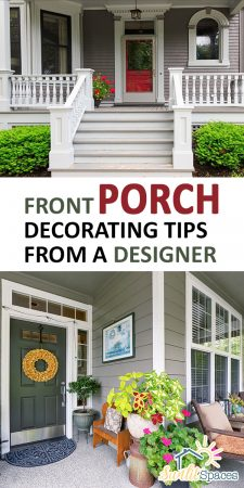Front Porch Decorating Tips | DIY Front Porch Decoration Tips | Decorating Tips | Front Porch Decor | How to Decorate Your Front Porch
