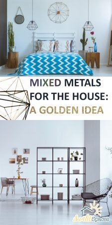 Mixed Metals | Mixed Metal Design | Mixed Metal Design Ideas | Ideas for Mixing Metals | Mixed Metal Home Decor | Mixed Metal Home Decor Ideas