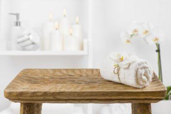 Spa Bathroom   Spa-Inspired Bathroom   Spa Day   Spa Day Tips and Tricks   Spa-Inspired Bathroom Day   DIY Spa Day