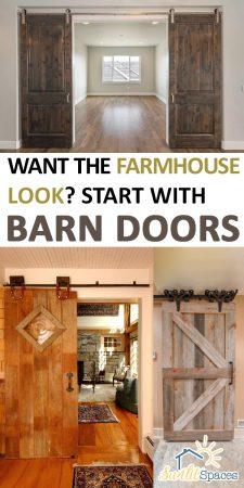 Barn Doors   Farmhouse Decor   Farmhouse Decorations   DIY Farmhouse Decorations   DIY Barn Doors   Barn Door Decor   Farmhouse Barn Doors