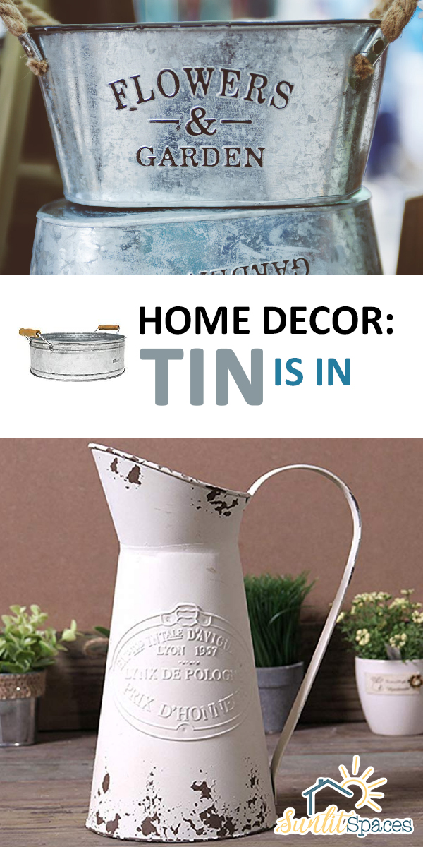 tin home decor | tin decor | tin | home decor | tin home decor ideas | home decor ideas | tin decor