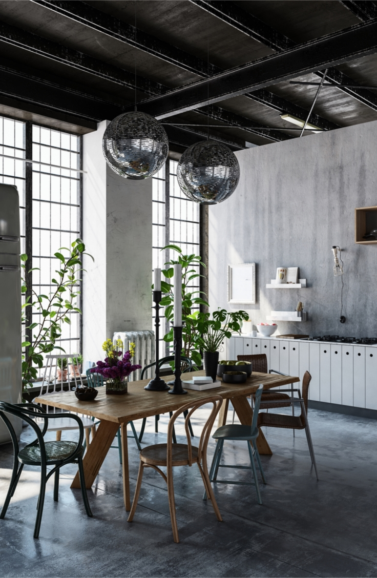 Modern Industrial Home Decor - Sunlit Spaces   DIY Home ...