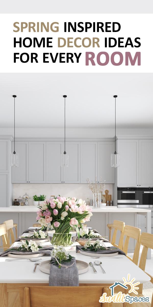 Spring Inspired Home Decor Ideas