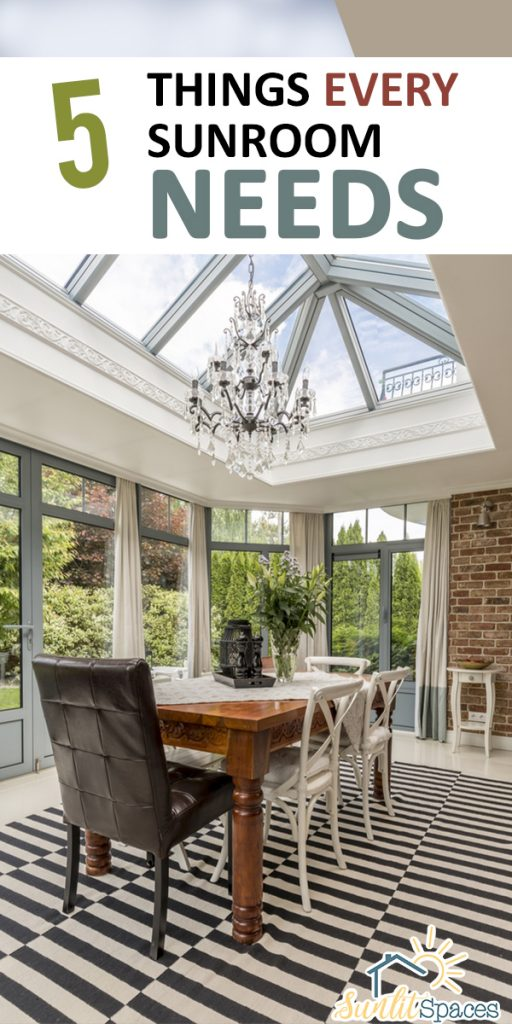 things every sunroom needs | sunroom | sunroom needs | sunroom designs | sunroom decor | design | decor