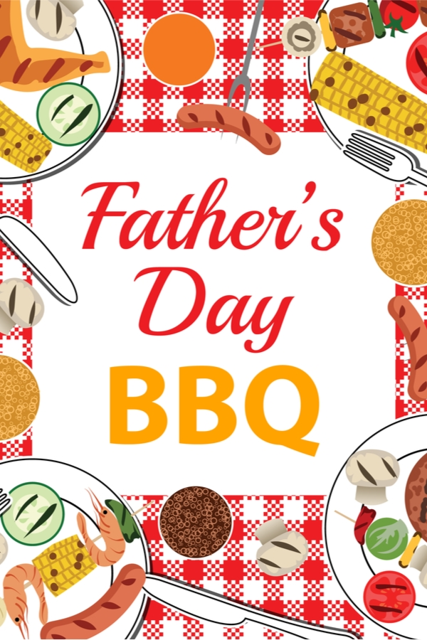 Father's Day bbq decor | diy father's day bbq decor | father's day bbq | bbq | decor | bbq decor | father's day | diy | diy bbq decor