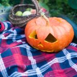 Plaid Halloween Decorations