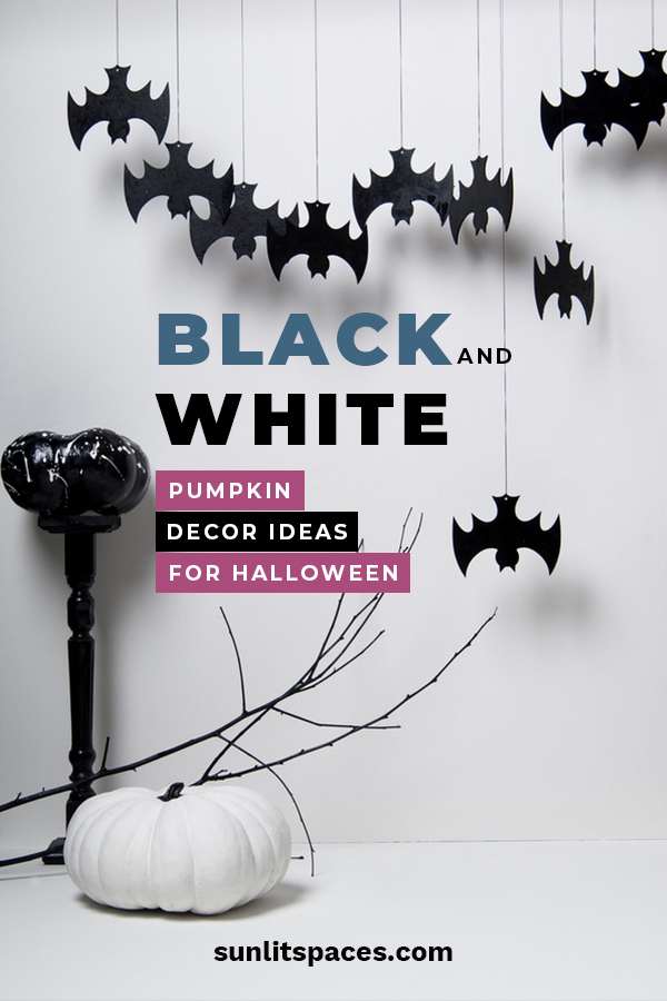Here are some amazing black and white pumpkin decor ideas for Halloween that everyone will love