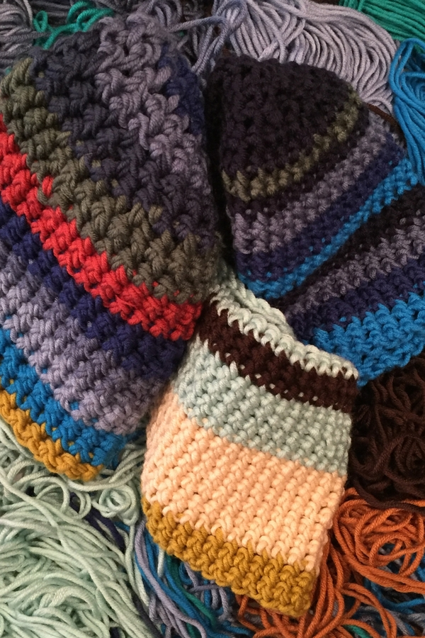 Here are some great beanies to crochet this fall. They are easy, cute, and will keep you warm. What's better than that?