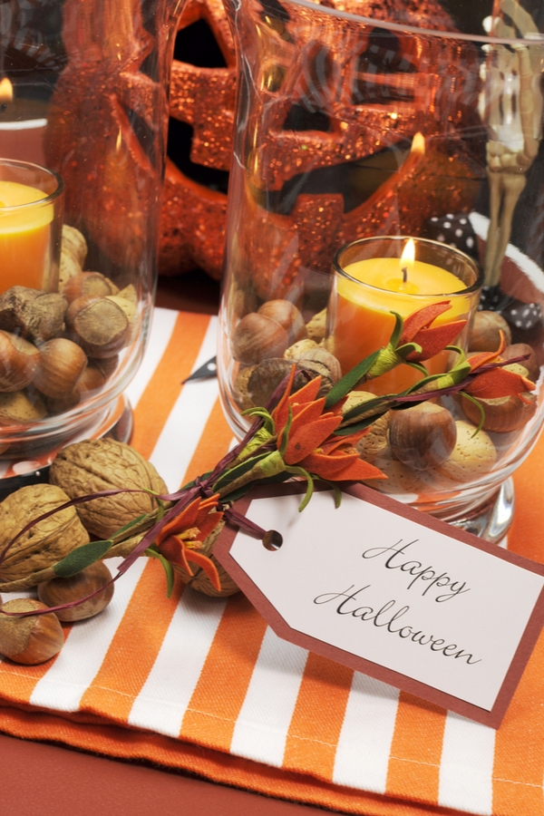 Table Decor For Halloween   Halloween   holiday   home decor   table decor   Halloween decor