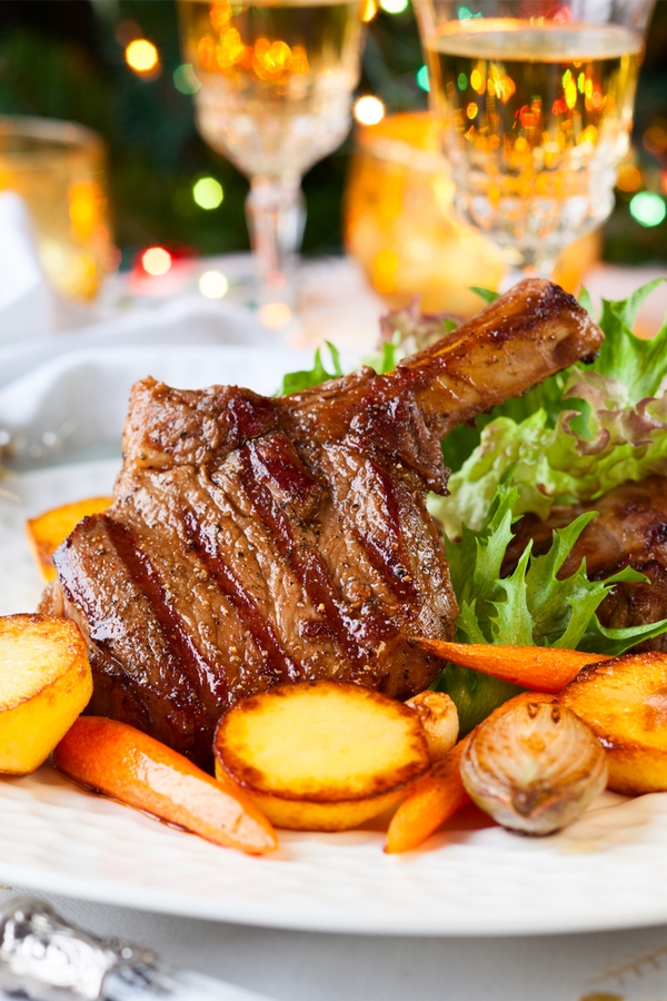 Lamb chops are the perfect solution for any New Years Eve dinner. They are delicious and easy to make. For more New Years Eve dinner ideas, look here.