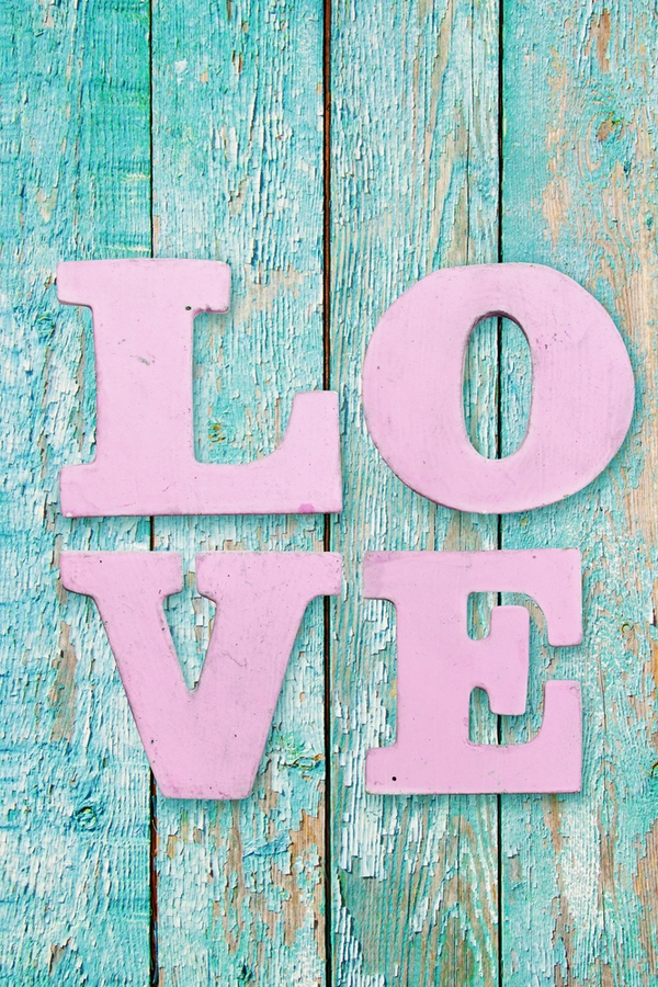 Are you looking for cute Valentine's Day decorations? Why not make some adorable Valentine's wood decor? Nothing says Valentine's Day like block letters spelling out love.