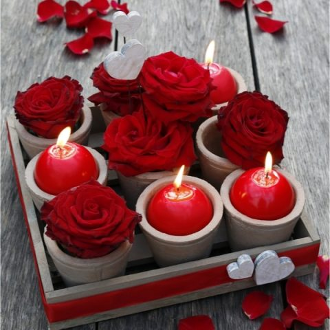 Valentine's Wood Decor