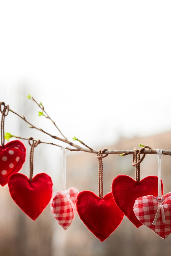 Are you looking for cute Valentine's Day decorations? Why not make some adorable Valentine's wood decor? You can create a Valentine's Day tree and decorate it with cute hearts.