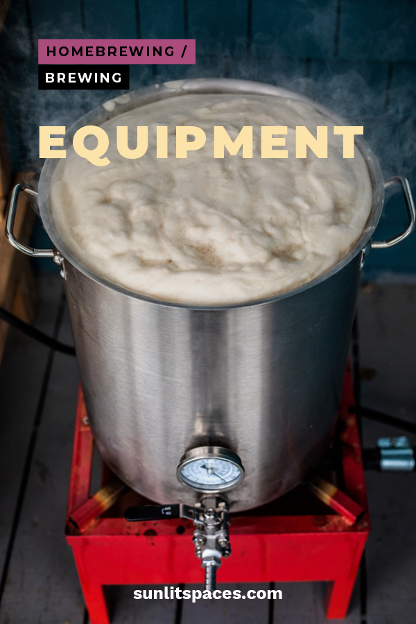 Forget going out to the local pub when you can brew your own beer at home. Keep reading to learn about the brewing equipment you will need, kits you can by and even how to build your own homebrewing kit. Bottoms up! #brewingequipment #homebrewing #howtomakeyourownbeer