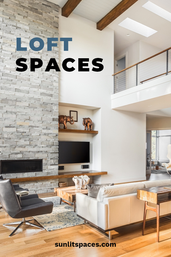 There is just something so comfy about loft spaces. They can be used for many different uses. From bedrooms, kid areas, storage, and more, we have ideas for you that not only are cool, they are functional. Read the post and learn how you can make a loft space that is awesome! #loftspaces #homedesign