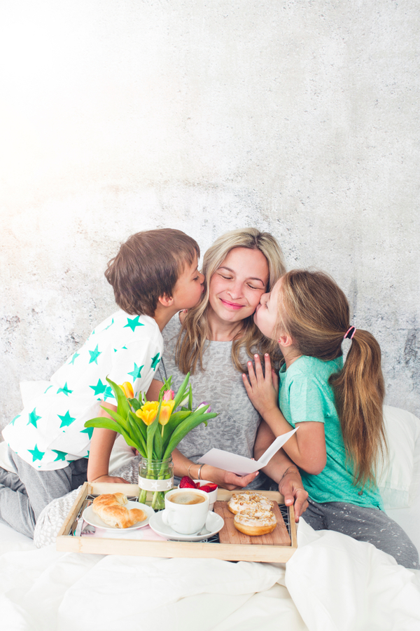 Mother's Day at home is a great idea! If Mom is used to going out for some brunch and shopping, or time at church, spending the day at home promises to be different. But different can be good!