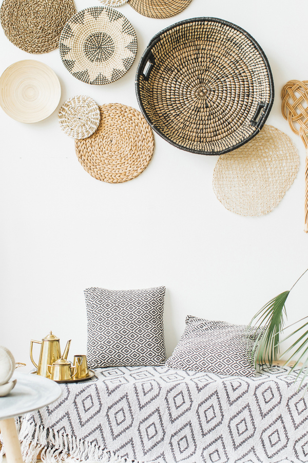 If you're dreaming of a basket gallery wall but aren't confident in your ability to do it--this post is for you. Anyone can have the DIY Boho basket wall of their dreams.