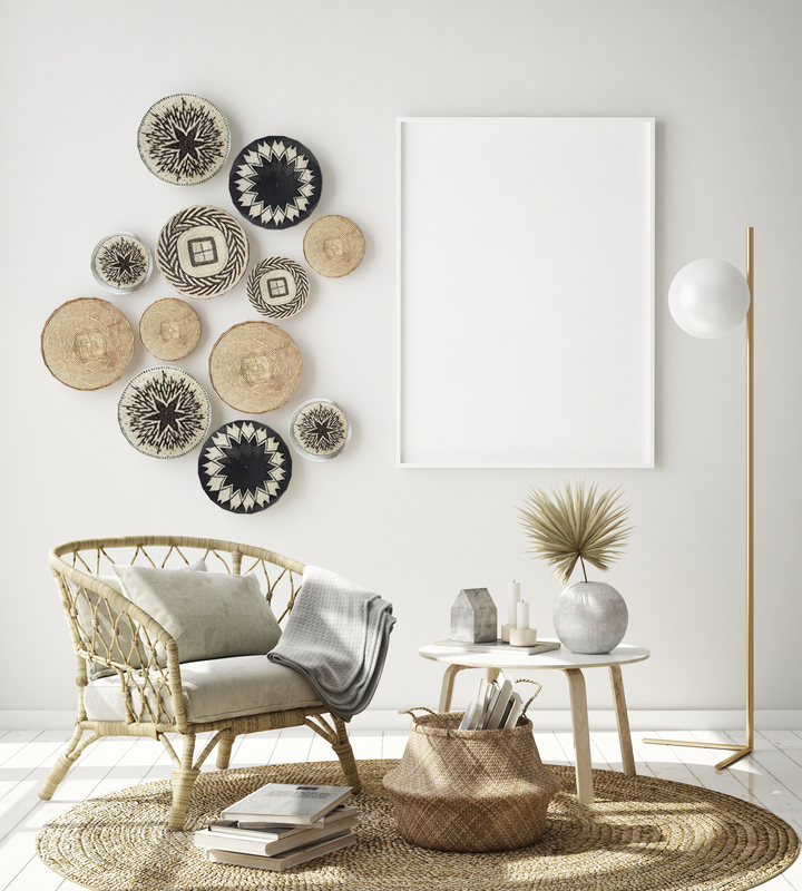If you're dreaming of a basket gallery wall but aren't confident in your ability to do it--this post is for you. Anyone can have the DIY Boho basket wall of their dreams. Check it out!