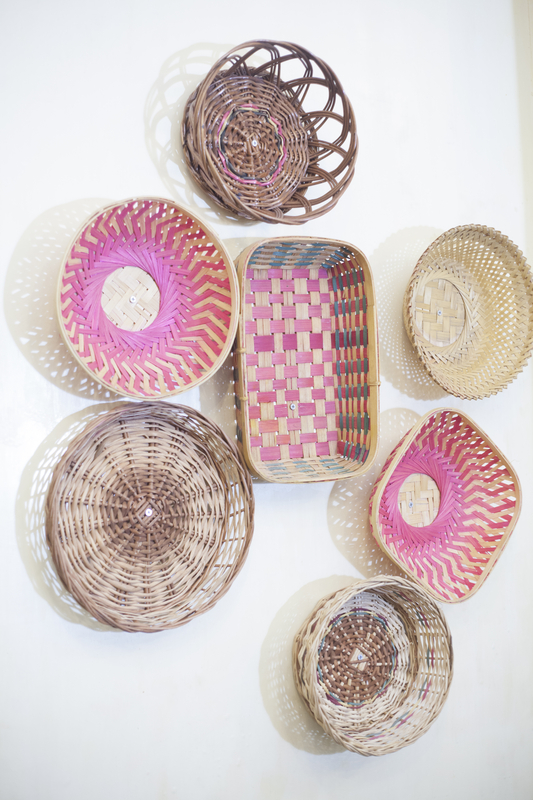 If you're dreaming of a basket gallery wall but aren't confident in your ability to do it--this post is for you. Anyone can have the DIY Boho basket wall of their dreams. Take a look!