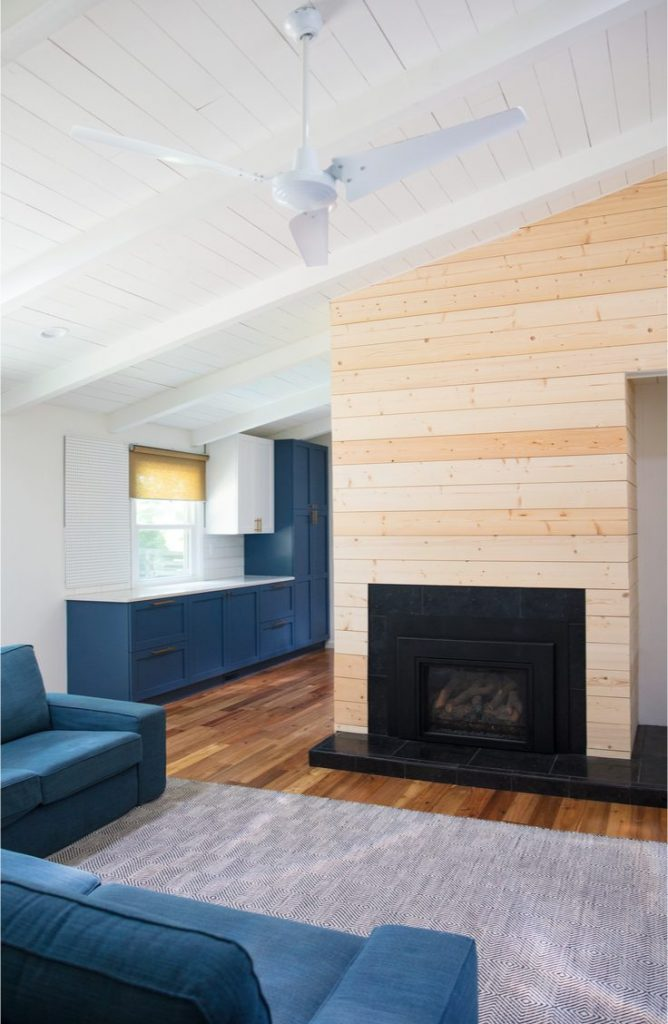 Shiplap isn't just a plain Jane way to cover a wall. Shiplap is more versatile than you may think. Learn how to use shiplap in your living room!