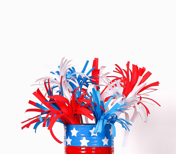 Recycled 4th of July Crafts