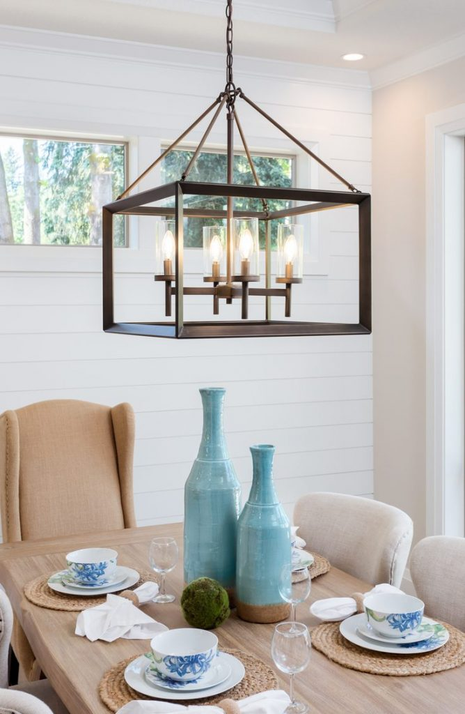 Shiplap isn't just a plain Jane way to cover a wall. Shiplap is more versatile than you may think. Learn how to use shiplap in your dining room!