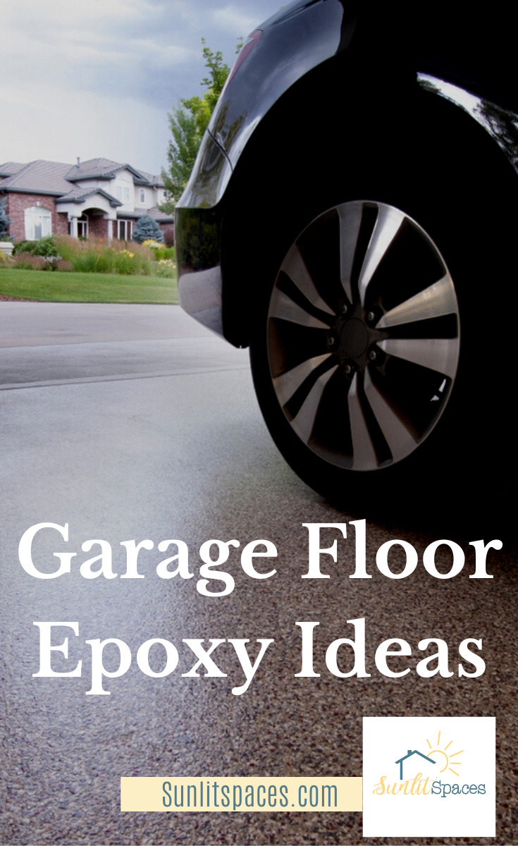 If you've ever cleaned an epoxy floor, you know it's a breeze compared to plain concrete. And they just look so much better than concrete! Is it a DIY project? Yes, if you know the tips and tricks to doing it right. Save yourself the money and make it a DIY project for you (and hopefully your bestie)! #DIYepoxy #DIYgarageepoxyfloor