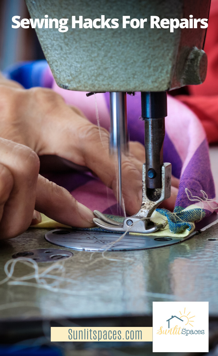 If you love to sew, these 25 sewing hacks will change your life! And bring about world peace. Ok, maybe not world peace, but definitely more peace in your home because -- hey! -- sewing is fun and this will make it even more fun! And that is sure to change your life, right? #sewingtutor #sewinglessons