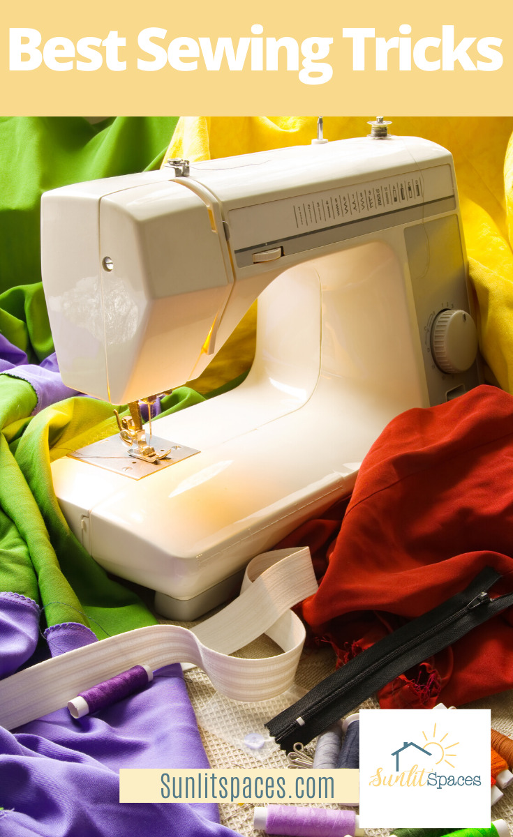 Sewing is a hobby that is not often picked up anymore. It used to be that every lady my mom's age knew how to sew. Now, I hardly know anyone who sews. Maybe it's because it's intimidating. Well, with these sewing tricks it doesn't have to be. For more info, keep reading. #sewingmadesimple #learnsewingtricks #helpfulsewingtricks