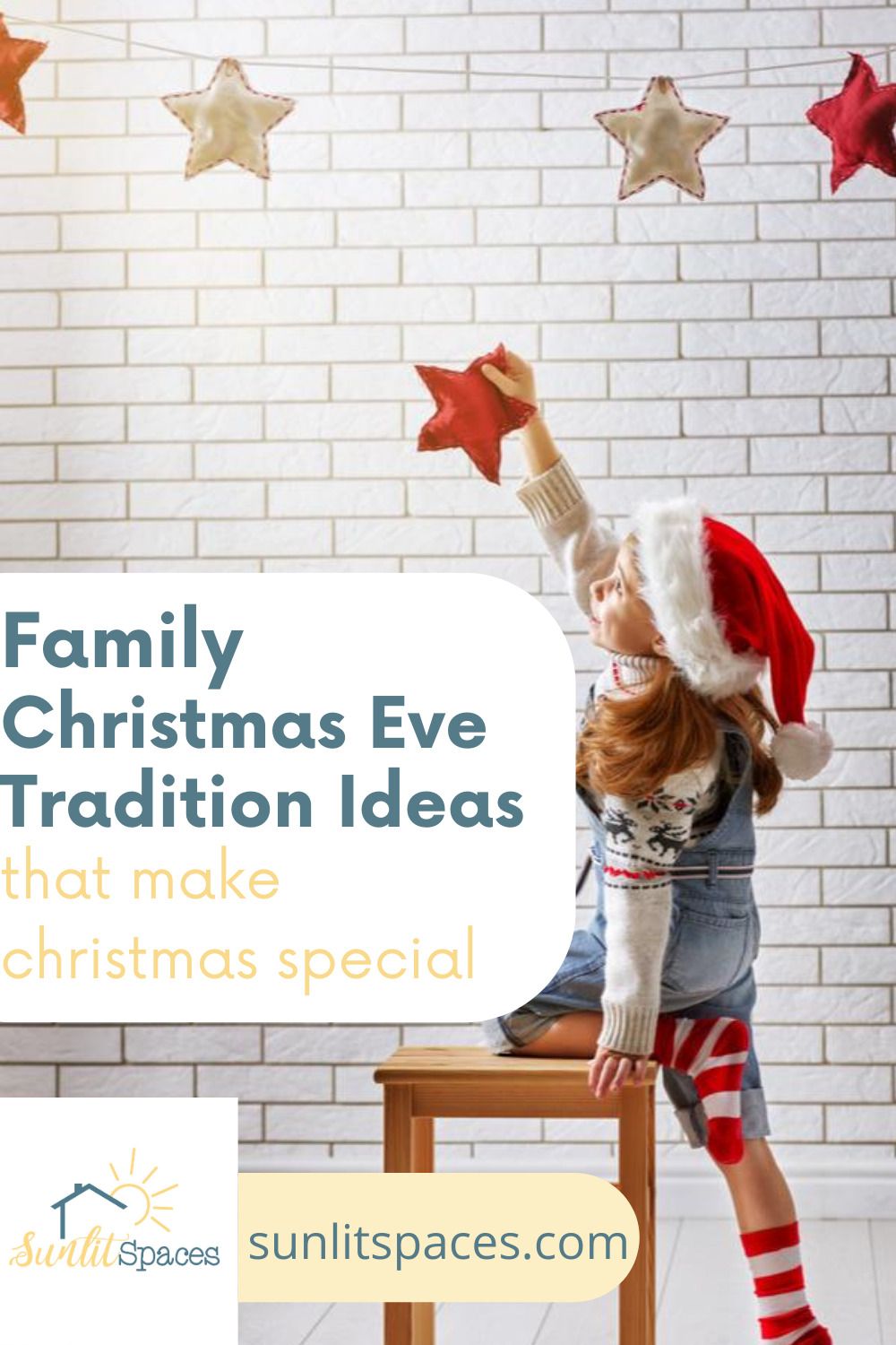 Special Christmas Eve tradition ideas to help you start your own Christmas family traditions. Blending traditions from two different families can be tricky, but you can always start your own! Here are some ideas to help. #sunlitspacesblog #christmasevetraditionideas #christmastraditions #christmasideas