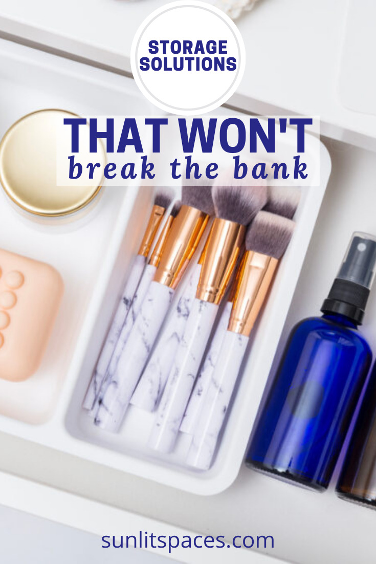 Sunlitspaces.com will help you find solutions to all of your clutter problems! Don't worry about messes anymore with clever ideas to ease your stress. These storage ideas will cost very little and help you sort through any pile of junk.