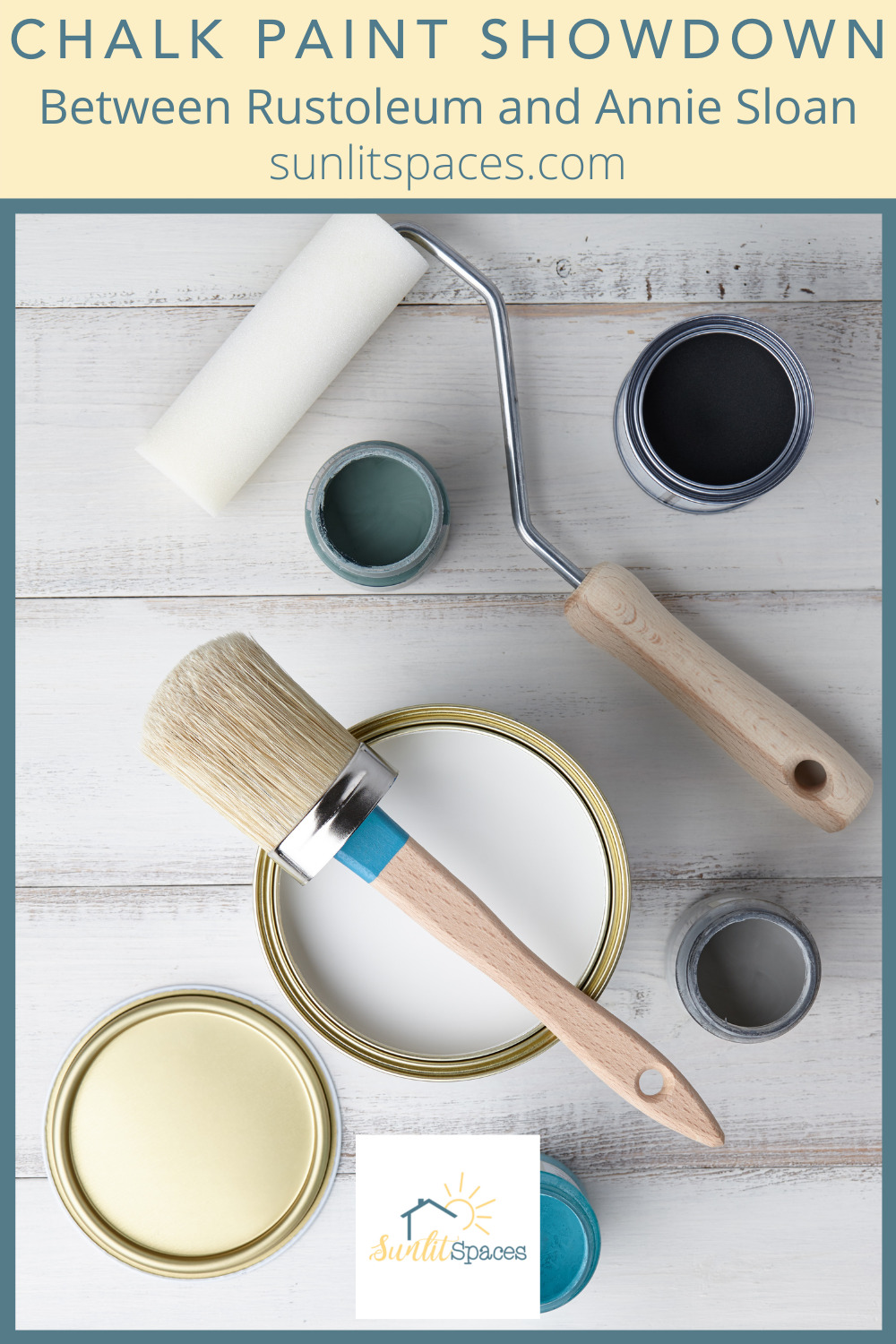 Sunlitspaces.com has the best ideas to help you design and execute a perfect living space! Find creative ways to make your place feel like home. Get that cozy feel of chalk paint on your furniture. Decide between Rustoleum and Annie Sloan with this useful guide!