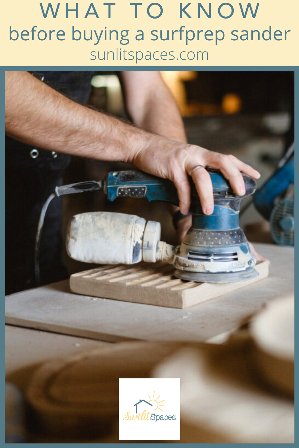 Sunlitspaces.com has the best tips for anyone interested in spicing up a drab space. Find out all you need to know before your next project. Decide today if a surfprep sander is right for you!