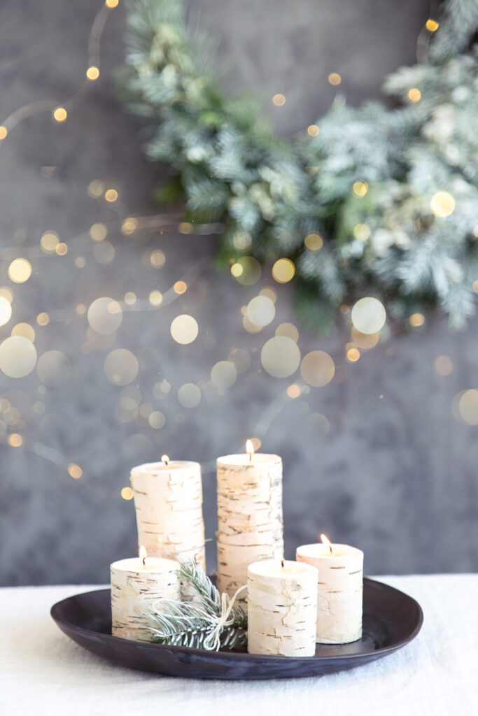 Making birch candles on your own