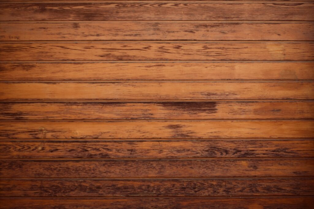 Getting a barn finish - Weathered Wood Stain