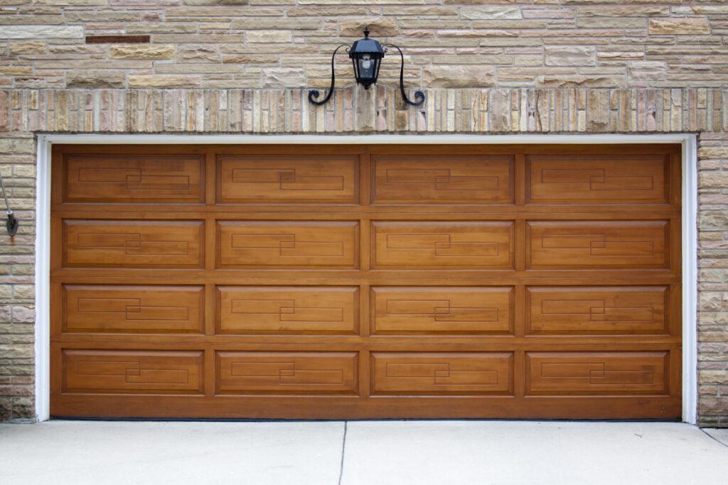 How to Update Your Garage Door With a Coat of Stain3
