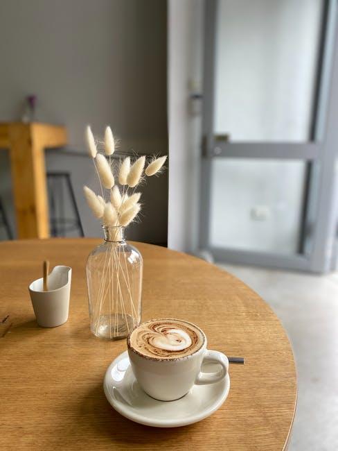 wood grain coffee table