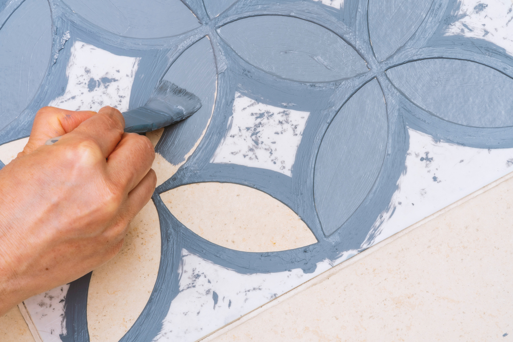 Saving time with a DIY stencil