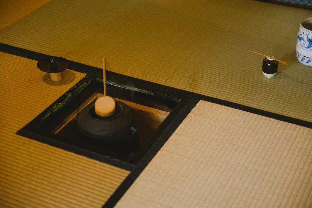 A designated tea room is a good idea for Japanese home décor
